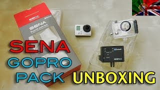SENA GoPro Pack + Waterproof Housing - Unboxing & overview