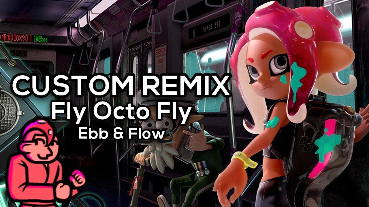 Rhythm Heaven Custom Remix Fly Octo Fly Ebb Flow Youtube