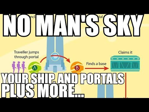 No Man's Sky How to get your ship after going through a portal and more!