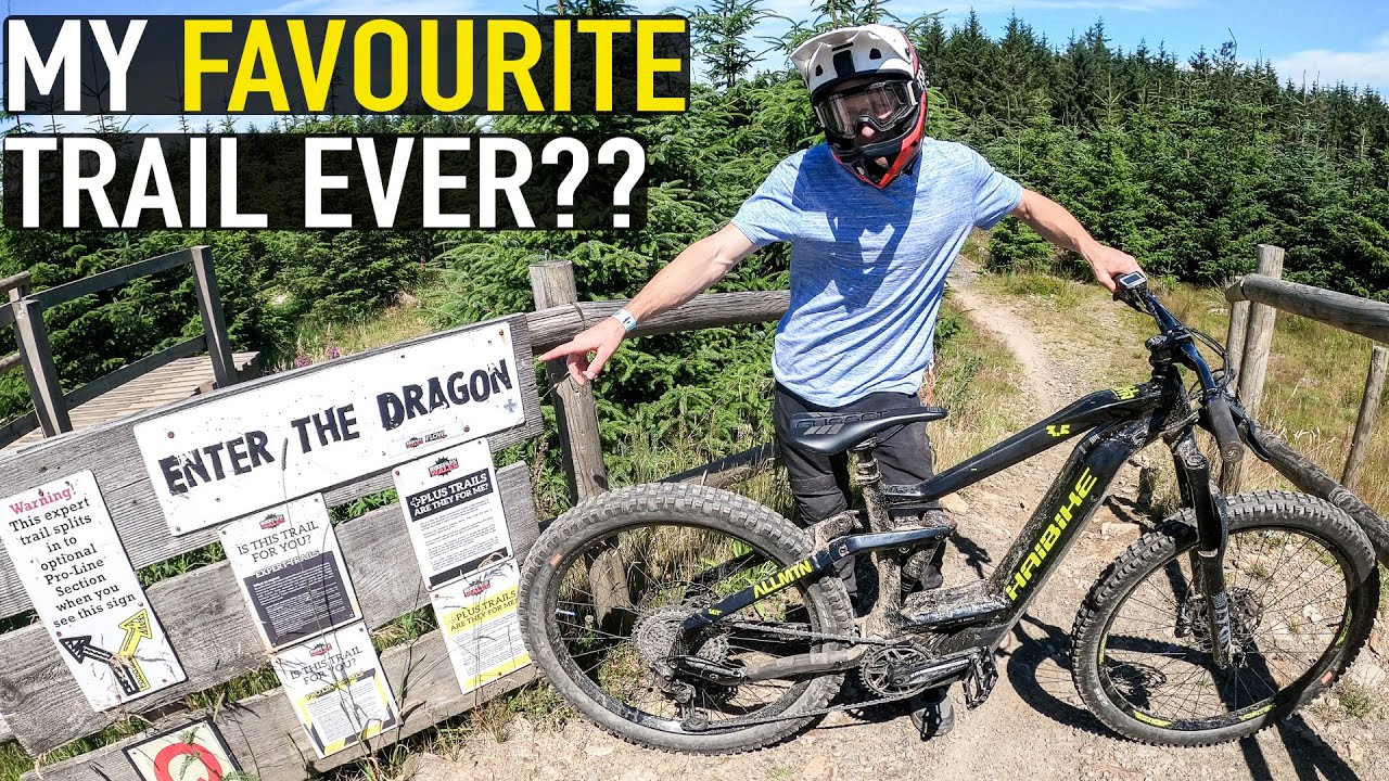 THE BEST TRAIL AT BIKEPARK WALES// ENTER THE DRAGON!