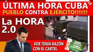 ÚLTIMA HORA CUBA!! -  PUEBLO contra EJÉRCITO - PAPA FRANCISCO -