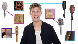 You're Using The Wrong Brush For Your Hair Type