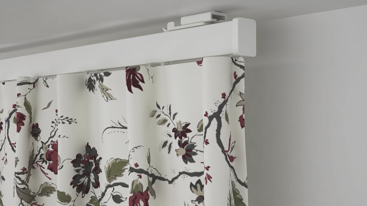 ikea vidga curtain series youtube