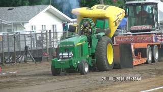 9,500LB HOT FARM TRACTORS IPL ELKHART COUNTY, INDIANA FAIR JULY 28,, 2016