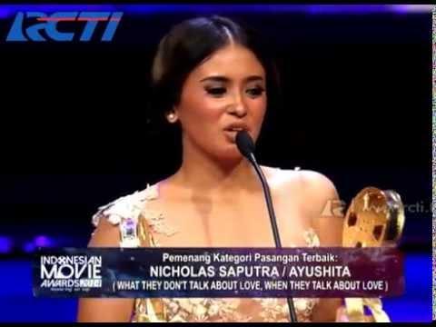 Nicholas Saputra-Ayushita - Pasangan Terbaik - IMA 2014