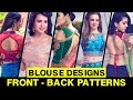 Blouse Designs with New Front & Back Patterns