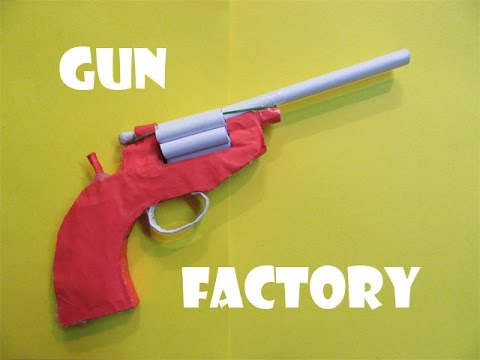 How to Make a Paper Revolver that shoots...