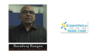 CELEBRITIES SPEAK: BARADWAJ RANGAN | SAB JOHN EDATHATTIL | SCREENWRITE