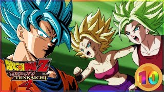 [FR] Dragon Ball Z budokai Tenkaichi 4 Episode 10 - GOKU VS CAULIFLA & KALE | Gameplay Francais