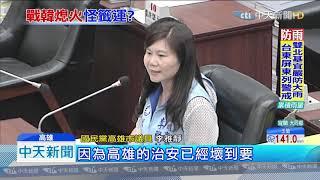 20190927中天新聞 綠議員質詢韓國瑜分貝高 議長訓:卡小聲ㄟ