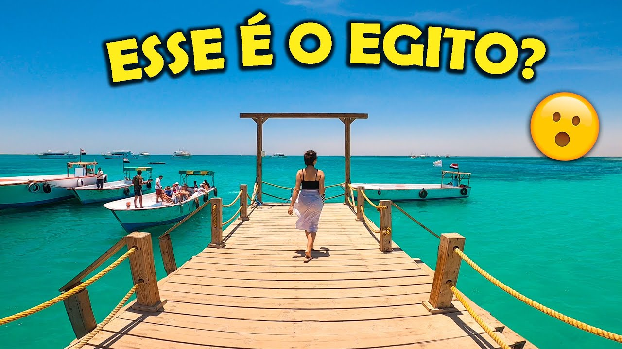O LUGAR MAIS LIBERAL DO EGITO: O Paradisíaco Mar Vermelho! | Brasileira no Egito