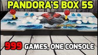 Best Retro Arcade Game System - Pandora's Box 5S 999 Retro Arcade Games, One Console