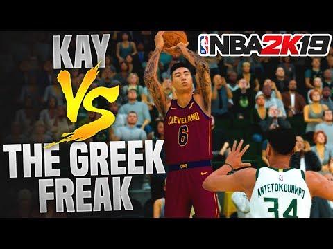 BATTLE FOR THE MVP! KAY VS THE GREEK FREAK! NBA 2K19 MyCareer Ep.11