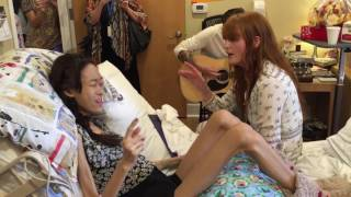 "Karinya ""Yaya"" duet with Florence of #Florence and the Machine Singing Shake It Out"