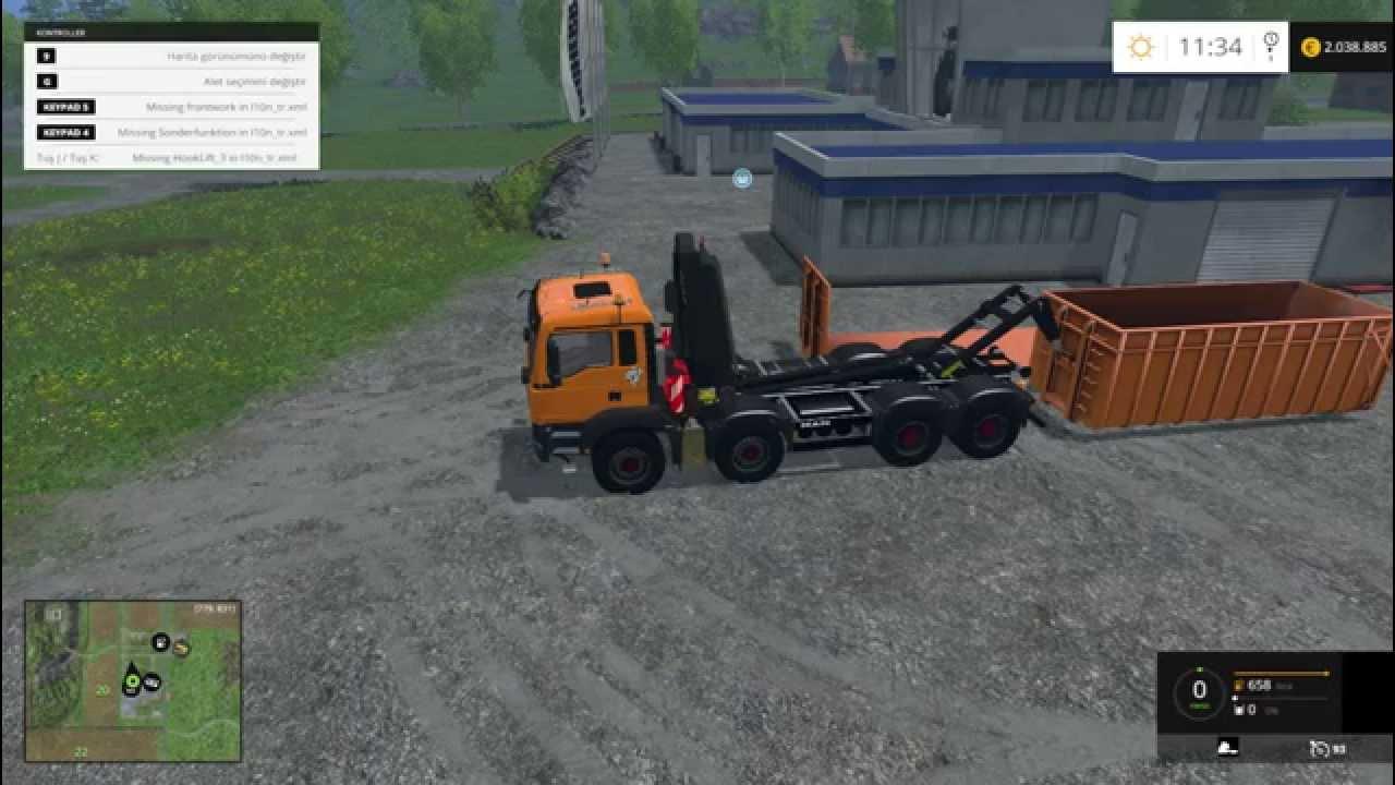 Farming Simulator 2015 Man TGA 8x8 HLK Truck Mod