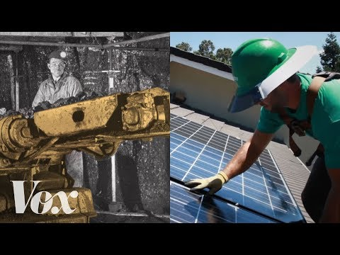 Why there are twice as many solar jobs as coal jobs