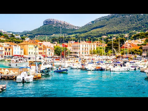 A Walk Around The Beautiful Town Of Cassis, France
