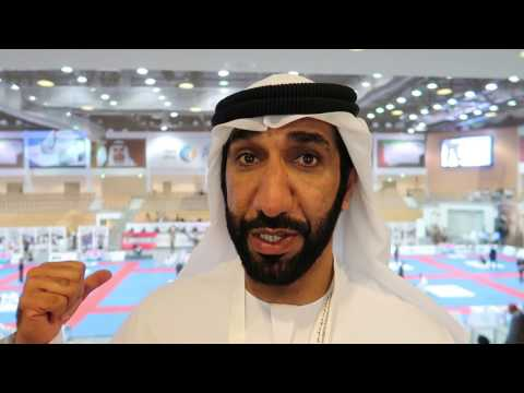 The actor Abdulla Zaid Present at Al Shaheed Tournament back in November