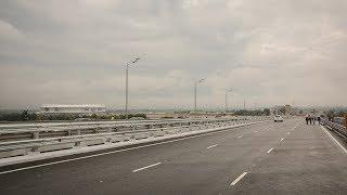 ворошиловский мост готов к вводу в эксплуатацию