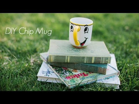photograph about Chip Teacup Printable known as Chip Mug Do-it-yourself Chip Natural beauty And The Beast Mugs Chip Sharpie Mug