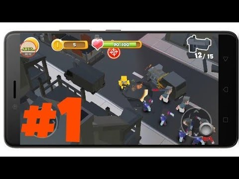 Pixel Zombie War Android Gameplay Part1