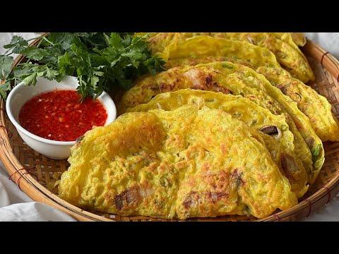 Banh Xeo, Crispy Vietnamese Pancakes