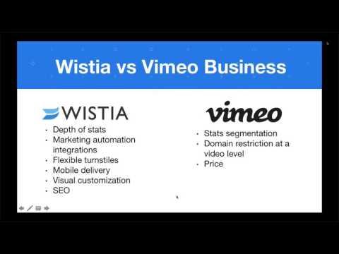 Phil Nottingham Compares Wistia & Vimeo Business For Video Hosting