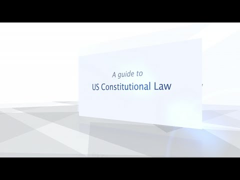 How to use US Constitutional Law