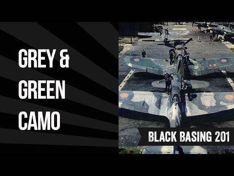 Black Basing 201: Grey-Green Camo