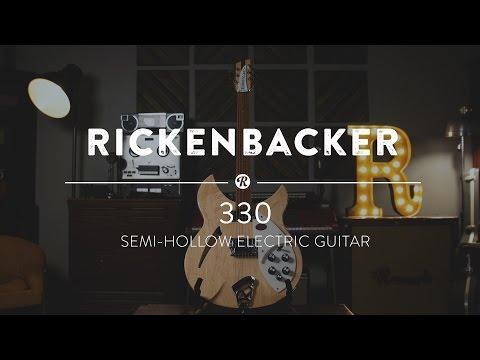 Rickenbacker 330 Electric Guitar   Reverb Demo Video