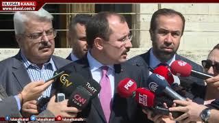 Yargı Reformu Strateji Belgesi için ilk paket MHP'nin ardından CHP ve İyi Parti'ye sunuldu
