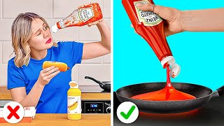 FOOD HACKS FOR LAZY ONES || Genius Food Hacks And Funny Tricks You Can Easily Repeat