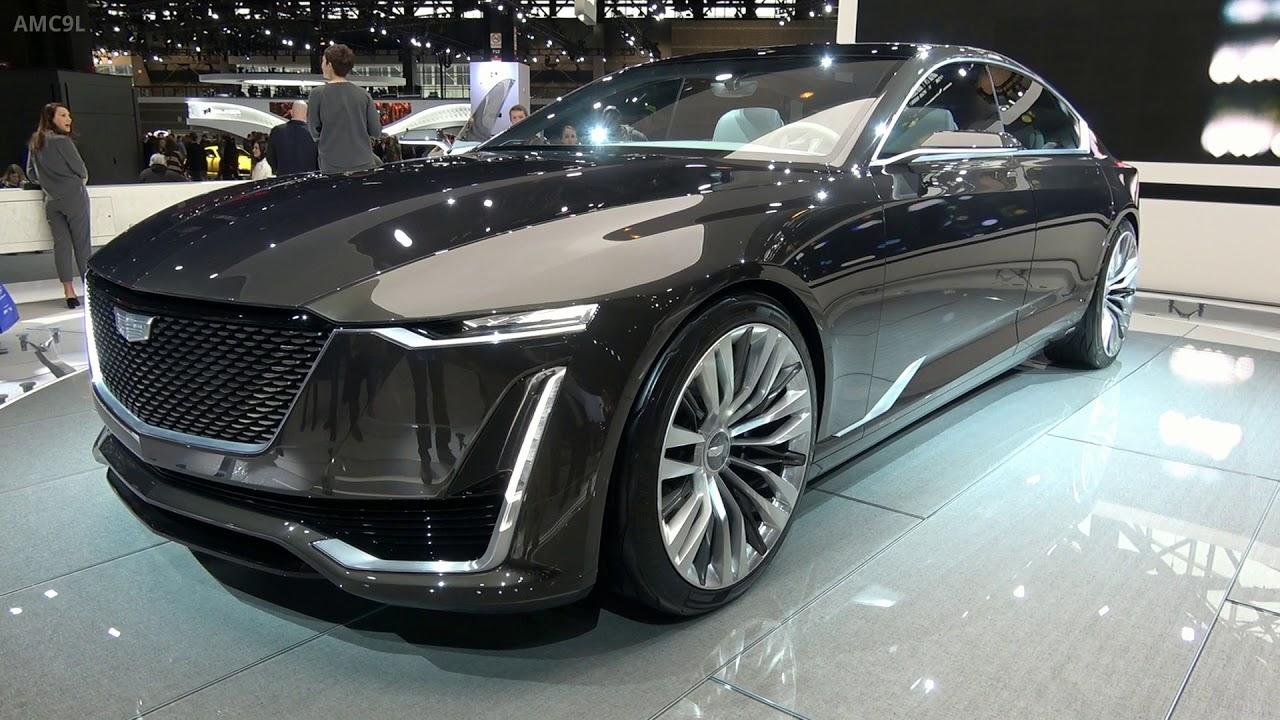 2019 Cadillac Escala - Chicago Auto Show 2018 - YouTube
