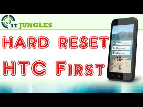 How to Factory Reset HTC First
