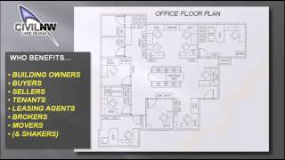 Commercial Office Space Planning - Floor Plans (civilnw)