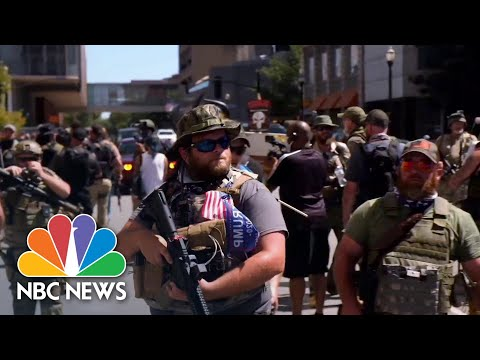Militia Leaders Defend Their Views As Armed Movement Grows In U.S. | NBC News NOW