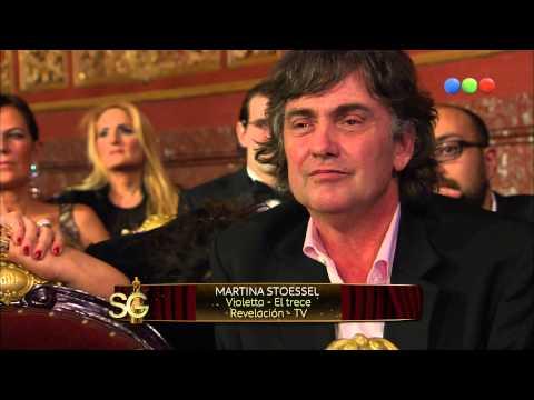 Violetta recuerda cuando ganó el Martin Fierro - Susana Giménez