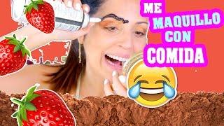 Reto Maquillaje con Comida! SandraCiresArt thumbnail