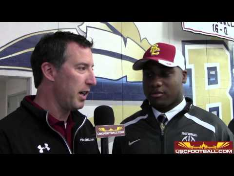 Four-star defensive end Malik Dorton signs with USC