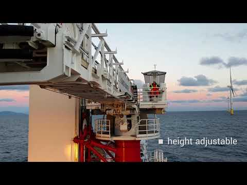 Next Generation Gangway at work   Barge Master & Bosch Rexroth