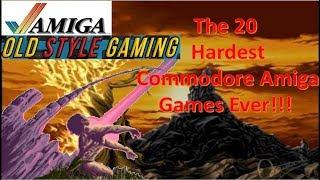 The 20 Hardest Commodore Amiga Games Ever Made!