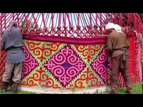 Decorative arts and crafts of Kazakhs - Kazakh Yurt