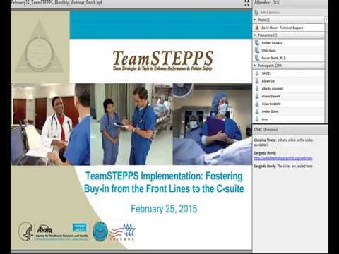 TeamSTEPPS Implementation: Fostering Buy-in from the Front Lines to the C-suite