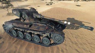 WoT AMX 13 75 | 4.400+ DMG | 1.600+ EXP - Sand River