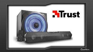 Trust GXT 668 TYTAN - Mocny zestaw subwoofer + soundbar
