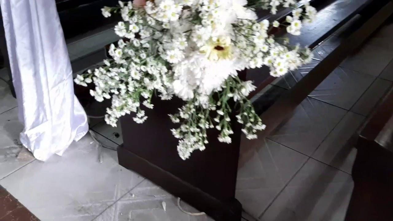 Dekorasi Pernikahan Di Gereja Gbkp Km 7 Wedding Ananta Ona