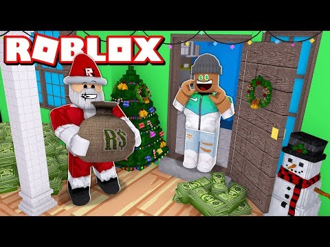 $1,000,000,000 GIFT FROM SANTA!!  Roblox Christmas Tycoon 2018