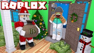 $1,000,000,000 GIFT FROM SANTA!! | Roblox Christmas Tycoon 2018