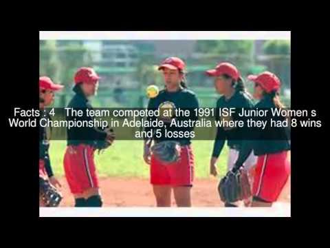 China women's junior national softball team Top  #10 Facts