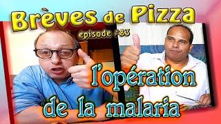 BRèVES de PIZZA #83 ...l'opération de la malaria